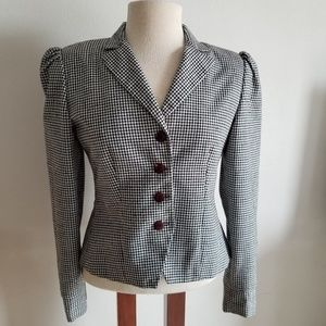 Vintage Lord & Taylor checked blazer size large